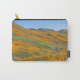 Superbloom of Poppies in Walker Canyon Carry-All Pouch