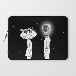 Day Dreamer Meets Night Thinker Laptop Sleeve