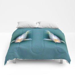 Fish Couple Under Water Comforters