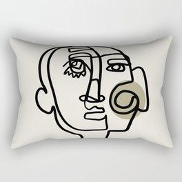 Aesthetic surrealistic art Rectangular Pillow
