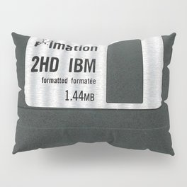 Retro 80's objects - Diskette Pillow Sham