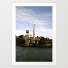 alcatraz island 2 Art Print