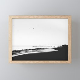 The Pier Framed Mini Art Print