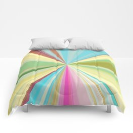 415 Abstract Colour design Comforters