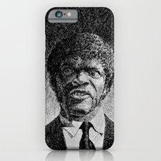 Jules Winnfield Portrait - Fingerprint - Samuel L. Jackson - Pulp Fiction Slim Case iPhone 6s