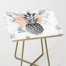 Marble Pineapple 053 Side Table