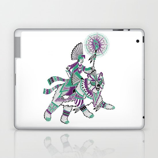 The Bear Rider Laptop & iPad Skin