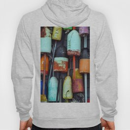 Float on a wall, Cape Cod Hoody