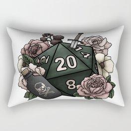 Rogue Class D20 - Tabletop Gaming Dice Rectangular Pillow