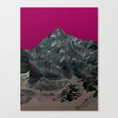 Experiment am Berg 36 Canvas Print