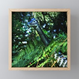 Brach in the Bush Framed Mini Art Print