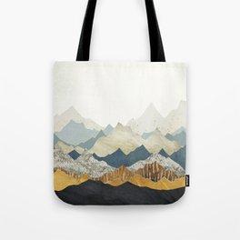 Distant Peaks Tote Bag