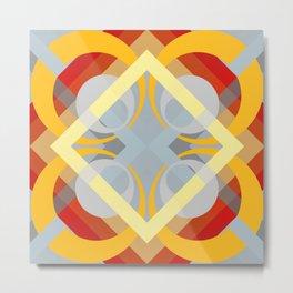 Semoon - Colorful Abstract Art Metal Print