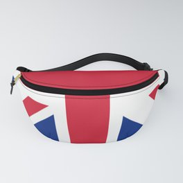 red white and blue trendy london fashion UK flag union jack Fanny Pack