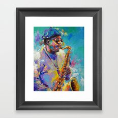 Soulful Charles Framed Art Print