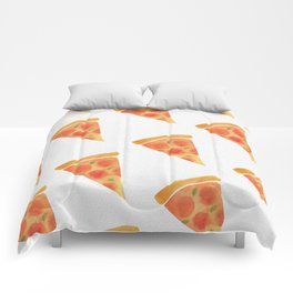 Pizza For Dayz Comforters