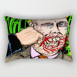 Whack Hate Rectangular Pillow