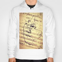 beethoven Hoodies featuring Beethoven Music by Richard Harper