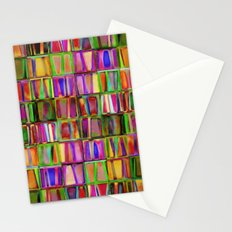 The Colorful World of Books Stationery Cards