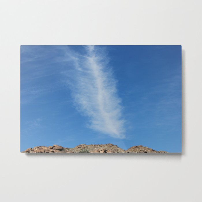 Leaf Cloud Metal Print