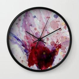 Magnolia Fever Wall Clock