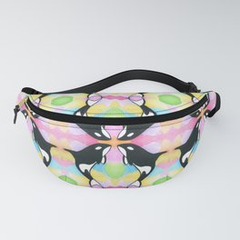 Orca In Watercolor Fanny Pack