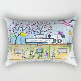 Toronto Zoo Rectangular Pillow