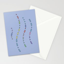 Its Your Birth Day in Morse Code Stationery Cards