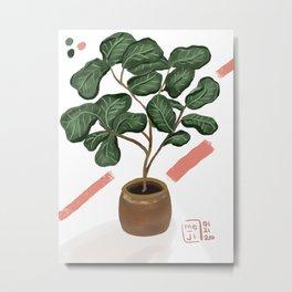 Felonius Fig Metal Print