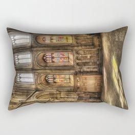 Sunlight Through the Windows Rectangular Pillow