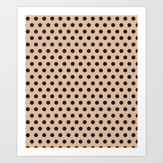 Dots collection II Art Print