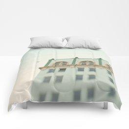 Seafoam Green Building Comforters