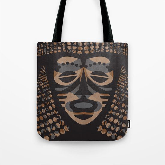 African Tribal Mask No. 1 Tote Bag