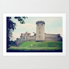 Beyond the Castle Walls Art Print