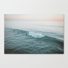 lets surf v Canvas Print
