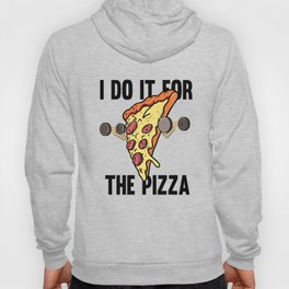 Fitness Pizza Sports Fast Food Diet funny gift Hoody