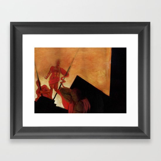 Fathers of August Framed Art Print