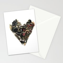 Heart Paint 2 Stationery Cards