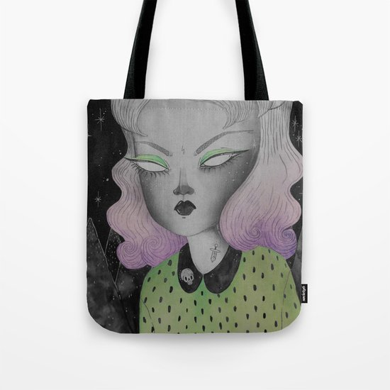 Ghoul from Outer Space Tote Bag