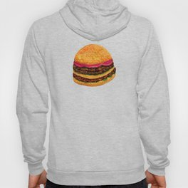 Watercolor hamburger Hoody
