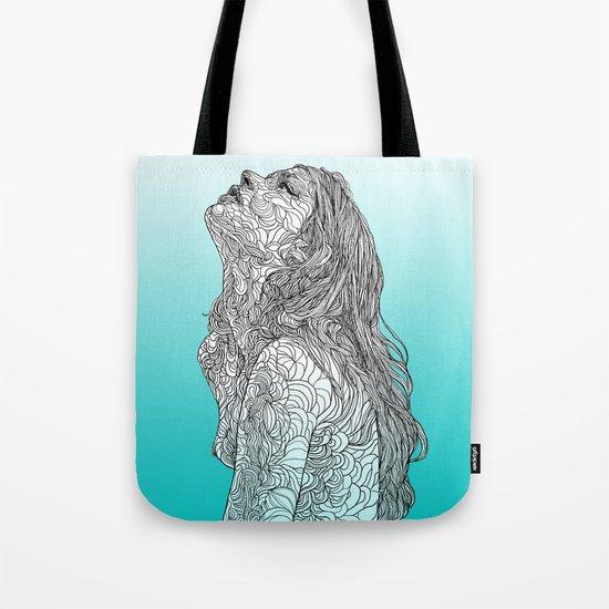 Sketch of Tender Hope Tote Bag