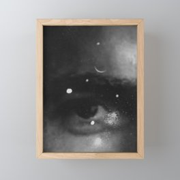 Eye See Stars Framed Mini Art Print