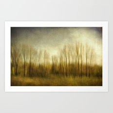 The Trees ..... Art Print