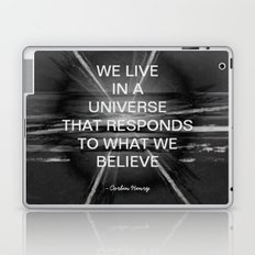 We Live In A Universe Quote - Society6 - Art - Luxury - Comforter - Bedding - Throw Pillows - Laptop Laptop & iPad Skin