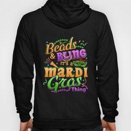 Mardi Gras Parade 2019 Beads Party Shirt Gift Idea Dark Hoody