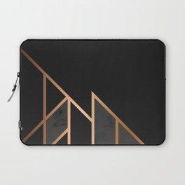 Black & Gold 035 Laptop Sleeve