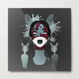 My Name is Vanda L. Metal Print