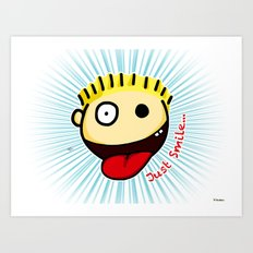 The Sbirù - Just Smile... Art Print