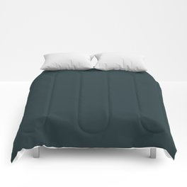 Cheap Solid Dark Slate Grey Color Comforters