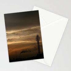 city scape Stationery Cards